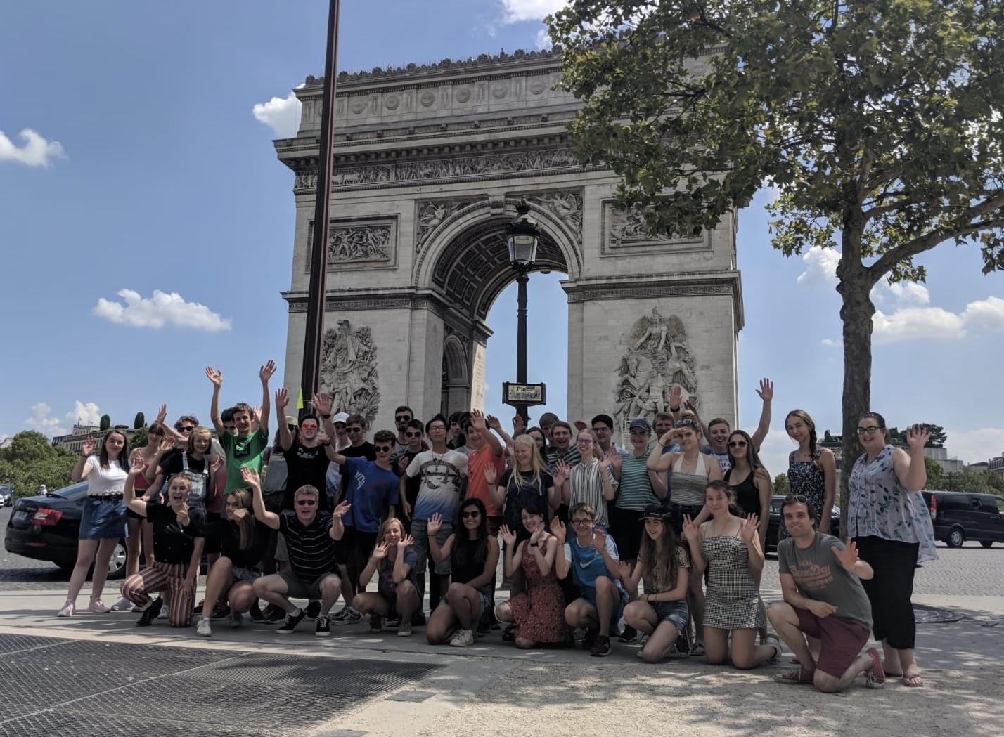 Bucks Music Trust Paris Tour 1