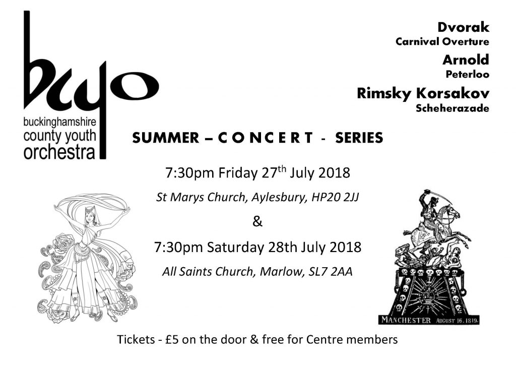 BYCO Summer Concert Series 2018