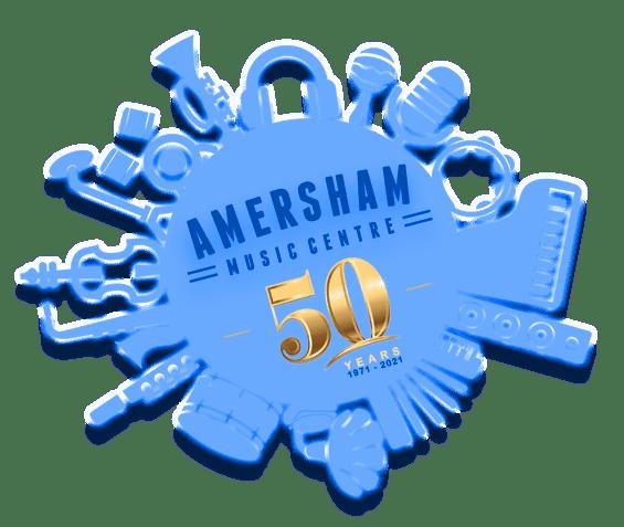 50th Anniversary _Amersham_logo