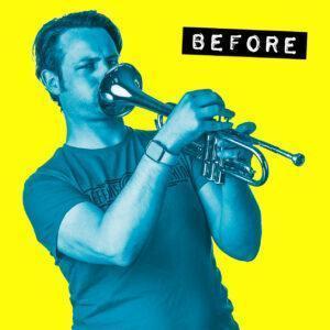 Gary Trumpet Before