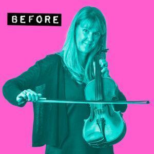 Karen Violin Before